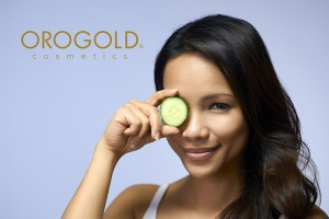 Cucumber slices for an at home spa treatment for your eyes