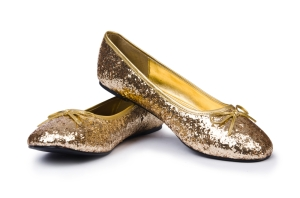 Gold flats at a bit of shine to your ensemble