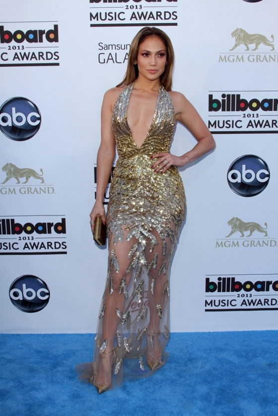 Celebrity Jennifer Lopez at the billboard music awards 2013