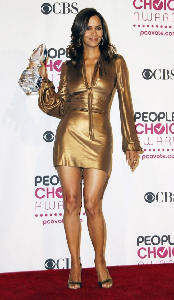 Halle Berry at the People's Choice Awards