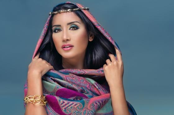 Beautiful middle eastern women