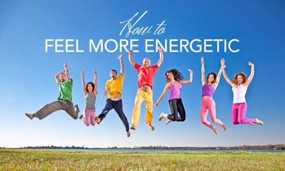Group of energetic people jumping in the air