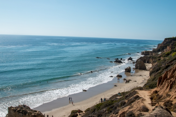 The Malibu Surfrider Beach, California.