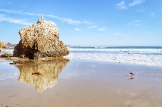 The El Matador State Beach in Los Angeles.