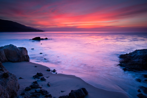 Image of the Leo Carrillo State Beach, California