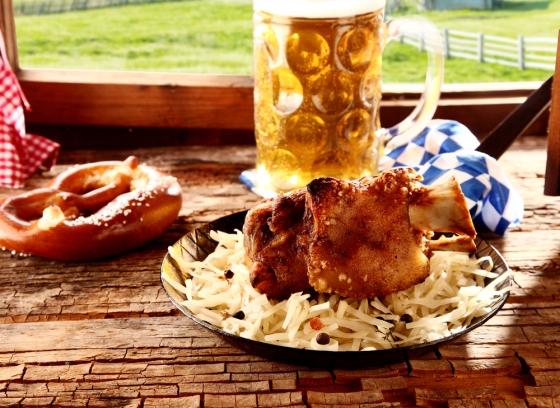 Oktoberfest food.