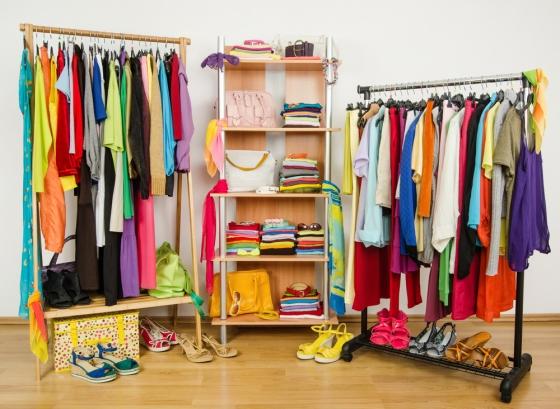 Woman wardrobe