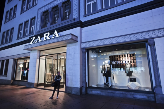 Zara store in China