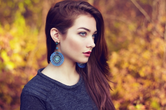 oversized earrings