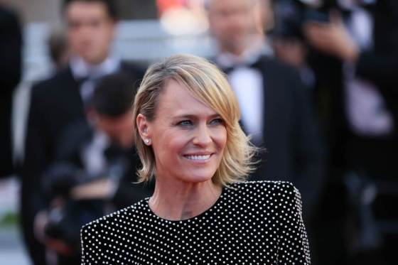 Actress Robin Wright